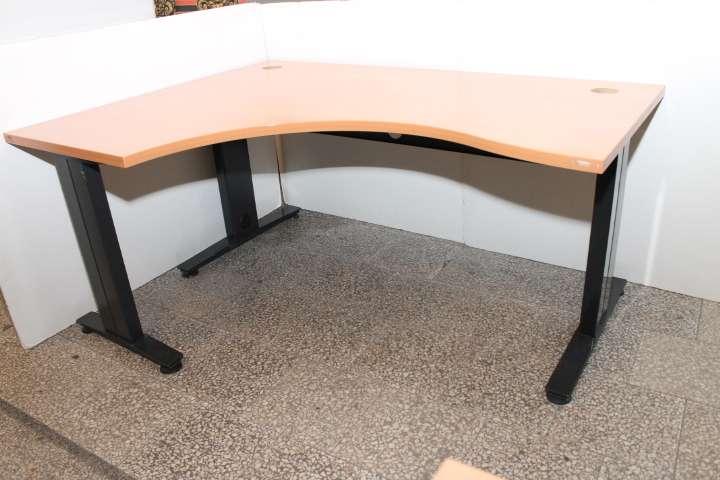 Oryginał Biurko narożne olcha 160x74x120cm - Komis Sezam - Meble Używane PF96