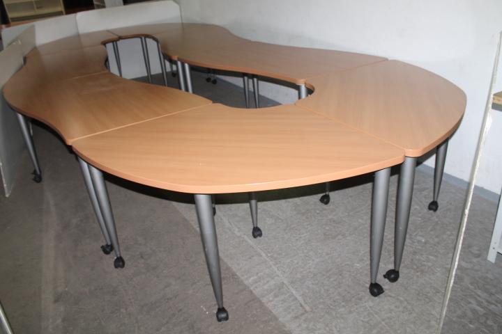 Dodatkowe Stół konferencyjny Steelcase 550x73x210 - Komis Sezam - Meble Używane LW62
